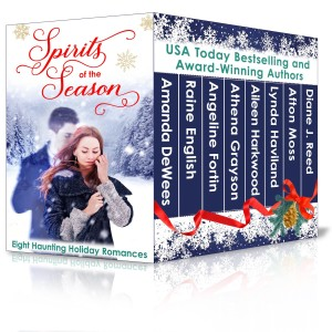 Eight Haunting Holiday Romances, only on Amazon Kindle
